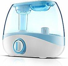 JA Ultraschall-Nebel Luftreiniger Mini Aroma-Luftbefeuchter Hause Mutter und Kind Büro Stumm-Reiniger,Blau