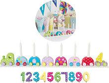 JaBaDaBaDo Geburtstagszug mit Zahlen (Bunt)