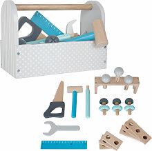JaBaDaBaDo Werkzeugkiste mit Werkzeug aus Holz