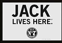 Jack Daniel's Spiegel - Jack Lives Here