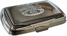 Jack Daniel's Tabakdose, in Chrom, für ca. 28
