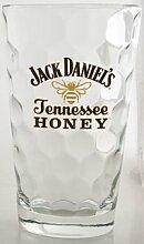 Jack Daniel 's Tennessee Honig Trinkglas