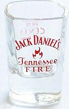 Jack Daniel Tennessee Fire Schnapsglas
