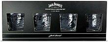Jack Daniels auf Eis, Gläser, 4 Stück
