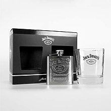 Jack Daniels BDA12302 Becher & Flachmann, Glas