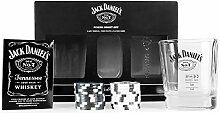 JACK DANIELS Flachmann No. 7, JD Poker-Set, Jd