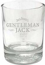 Jack Daniels Gentlemen Jack Whiskey Tumbler (1