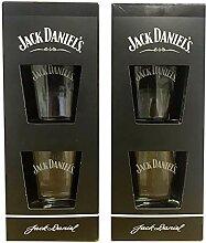 Jack Daniels Geschenkset 2x2 (4 Gläser)