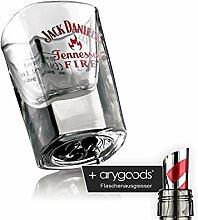 Jack Daniels Glas Gläser Shot Schnaps Tennessee