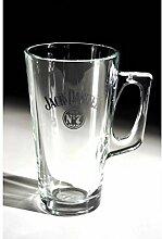 Jack Daniels Kaffeeglas mit Henkel (1 Glas) von