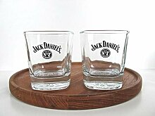 Jack Daniels Old No. 7, 2er Set Offizielles