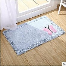 Jack Mall- Absorbent Cotton Badematte Antirutschmatten Fußmatte Teppich Mats Badezimmer Mats ( farbe : #1 )