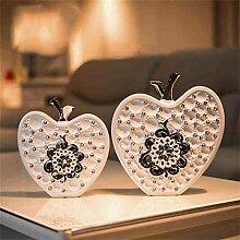 Jack Mall- Kreative Weihnachtsgeschenk europäischen Heimtextilien Zimmer TV-Möbel Keramik Kunsthandwerk leben Ornamente Dekorationen ( größe : S )