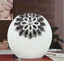 Jack Mall- Modernes unbedeutendes Wohnzimmer TV-Möbel Dekorationen Ornamente kreative Verzierungen Keramik-Vase bar Eingang Wohnaccessoires