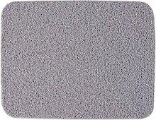 Jack Mall- Startseite Draht Gehäuse Pad PVC Anti-Rutsch Badematte Impermeable Grün Blau Teppich Eingang Mats Fußmatte ( farbe : Gray , größe : 45*58cm )