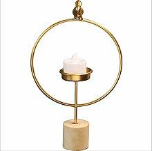 jackchen Kerzenhalter,Kreative Tisch Kerzenhalter,