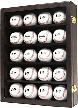 JackCubeDesign 20 Baseball-Vitrine Wandhalterung