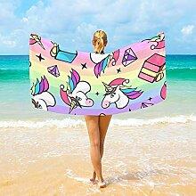 Jacklee Mikrofaser-Strandtücher Fantastisches