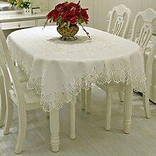 Jacquard european fabric tischtuch Tischtuch Tee tischdecke-B 60x180cm(24x71inch)