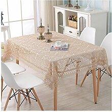 Jacquard Lace Tischdecke, raffiniertes und