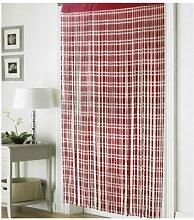 Jacquard rot String Tür Vorhang