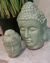 JADE BUDDHA Büste im edlen Bali Style mit