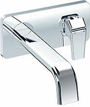 Jado JES Waschtisch-Armatur mit allen sichtbaren Designteilen, Chrom