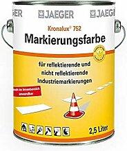Jaeger 752 Markierungsfarbe weiss 2,5l