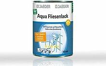 Jaeger Aqua Fliesenlack 875 weiss 0,75l