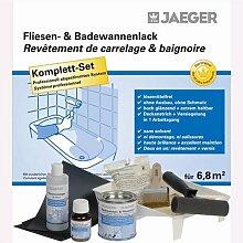 Jaeger Badewannen- & Fliesenlack für 6,8 m² Set