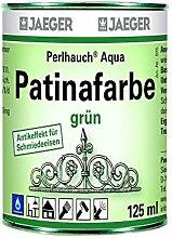 Jaeger Perlhauch Aqua Patinafarbe grün 125 ml