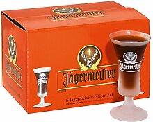 Jägermeister Glas 2cl 6er-Se