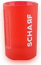Jägermeister Scharf 2 cl Schnaps-Glas Milchglas