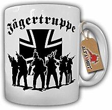 Jägertruppe Elite Einheit Militär Jäger Balkenkreuz Soldat Bundeswehr - Tasse Kaffee Becher #16715
