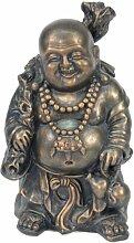 Jänig 10967 Happy Buddha, Höhe 25 cm, kupferfarben