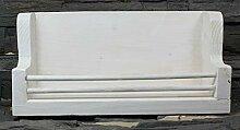 Jagdaktiv Gewürzboard weiß Vintage Massivholz