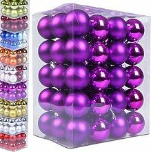 Jago Weihnachtskugeln Box Matt & Glänzend