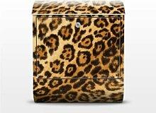 Jaguar Skin 39x46x13cm Briefkasten, Standbriefkasten, Briefkästen, Raubkatzen, Leoparden, Geparden