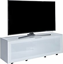 Jahnke TV Möbel Holzdekor Weiß 40 x 140 x 45 cm