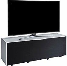 Jahnke TV Möbel, Holzdekor, Weiß, 40 x 140 x 45