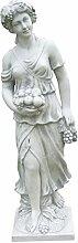 Jahreszeit Herbst, Skulptur aus Steinguss, Figur