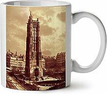 Jahrgang Foto Alt Mode Die Architektur WeißTee KaffeKeramik Becher 11 | Wellcoda