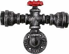 Jahrgang Vintage Industrial Wandlampe Rohr