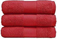 Jalla Handtuch extrasoft 40 x 60 cm, Kirschro