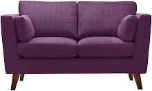 Jalouse Maison   2-Sitzer-Sofa Elisa violett