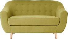 Jalouse Maison   2-Sitzer-Sofa Vicky gelb