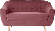 Jalouse Maison   2-Sitzer-Sofa Vicky rosa