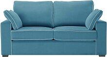 Jalouse Maison   Serena 2-Sitzer-Sofa blau