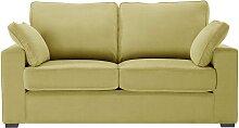 Jalouse Maison   Serena 2-Sitzer-Sofa gelb