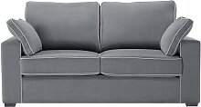 Jalouse Maison   Serena 2-Sitzer-Sofa grau